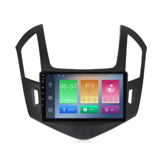 Navigatie Chevrolet Cruze 2012-2015, NAVI-IT, 9 Inch, 4GB RAM 64GB ROM, IPS, DSP, RDS, 4G, Android 10 , WiFi, Bluetooth, Magazin Play, Camera Marsarier [4]