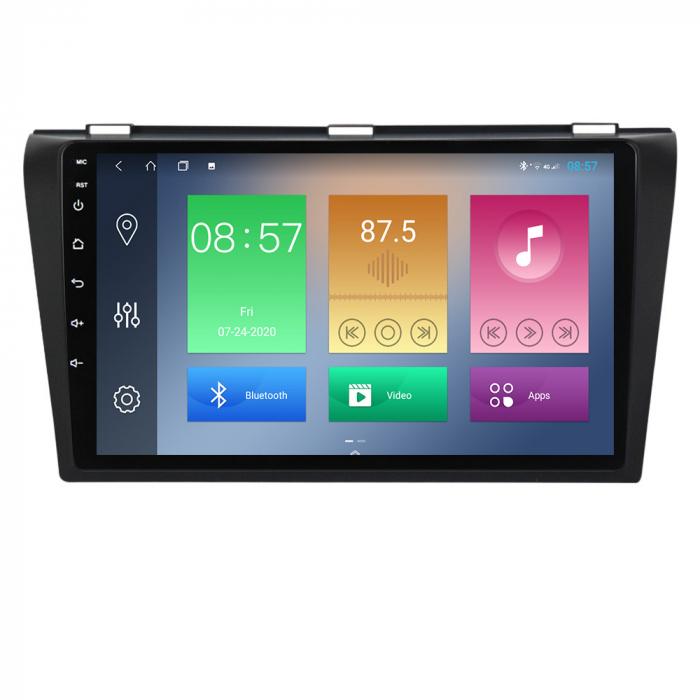 Navigatie Mazda 3 2004-2009, NAVI-IT, 9 Inch, 2GB RAM 32GB ROM, Android 9.1, WiFi, Bluetooth, Magazin Play, Camera Marsarier [0]