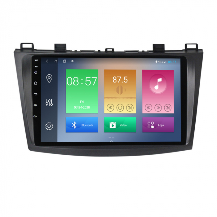 Navigatie Mazda 3 2013-2016, NAVI-IT, 10.25 Inch, 1GB RAM 16GB ROM, Android 9.1, WiFi, Bluetooth, Magazin Play, Camera Marsarier [0]