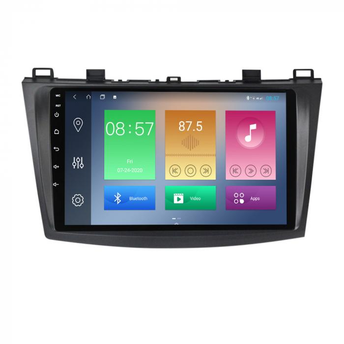 Navigatie Mazda 3 2013-2016, NAVI-IT, 10.25 Inch, 2GB RAM 32GB ROM, Android 9.1, WiFi, Bluetooth, Magazin Play, Camera Marsarier [0]