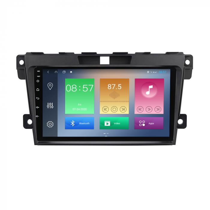 Navigatie Mazda CX7 2008-2015, NAVI-IT, 9 Inch, 4GB RAM 64GB ROM, IPS, DSP, RDS, 4G, Android 10 , WiFi, Bluetooth, Magazin Play, Camera Marsarie [0]