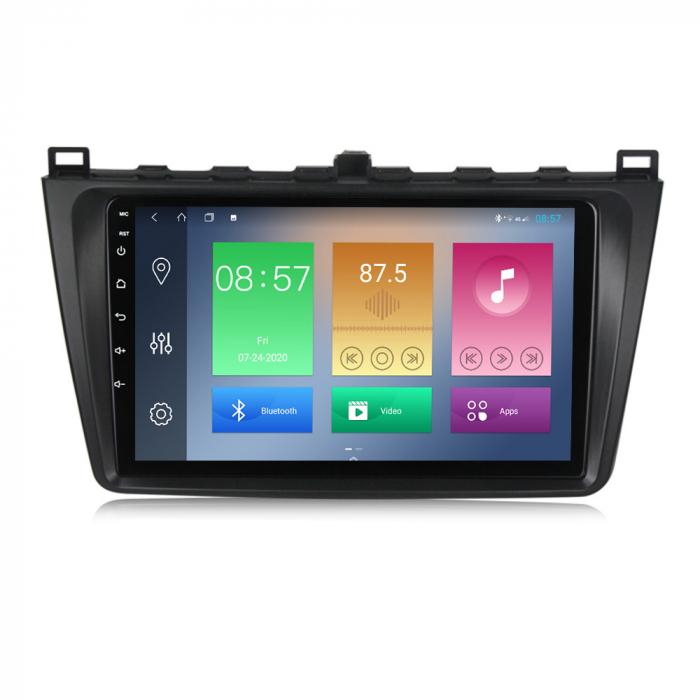 Navigatie Mazda 6 2008-2013 , NAVI-IT, 9 Inch, 1GB RAM 16GB ROM, Android 9.1, WiFi, Bluetooth, Magazin Play, Camera Marsarier [0]