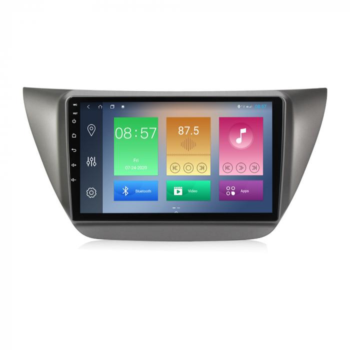 Navigatie Mitsubishi Lancer 2006-2010, NAVI-IT, 9 Inch, 4GB RAM 64GB ROM, IPS, DSP, RDS, 4G, Android 10 , WiFi, Bluetooth, Magazin Play, Camera Marsarier [0]