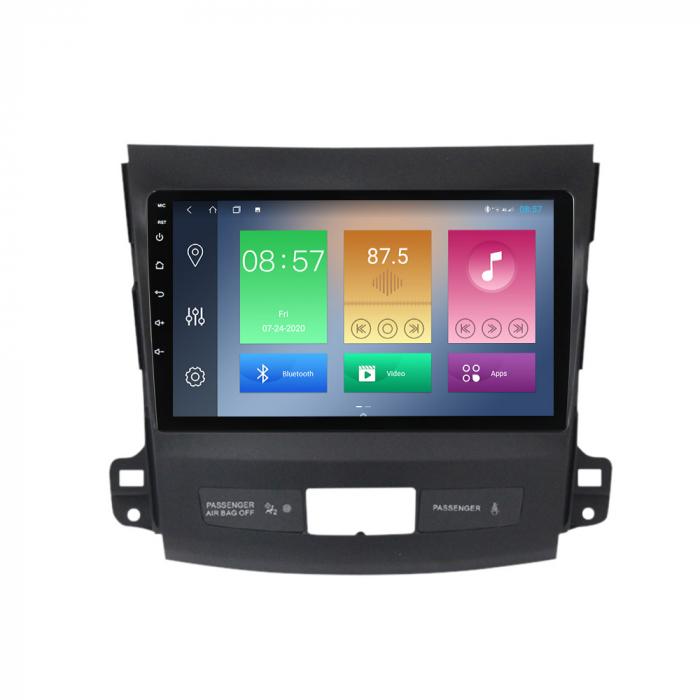 Navigatie Mitsubishi Outlander 2006-2012. NAVI-IT, 9 Inch, 4GB RAM 64GB ROM, IPS, DSP, RDS, 4G, Android 10 , WiFi, Bluetooth, Magazin Play, Camera Marsarier [6]