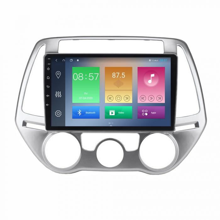 Navigatie Hyundai I20 2012-2014, NAVI-IT, 10 Inch, 1GB RAM 16GB ROM, Android 9.1, WiFi, Bluetooth, Magazin Play, Camera Marsarier [0]