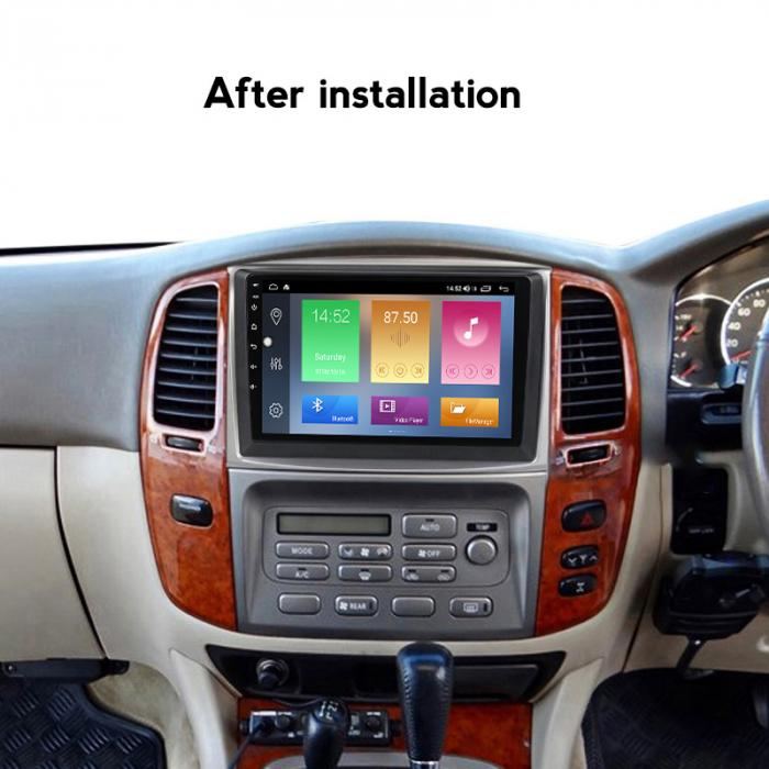 Navigatie Toyota Land Cruiser 2005, NAVI-IT, 10.1 Inch, 2GB RAM 32GB ROM, Android 9.1 , WiFi, Bluetooth, Magazin Play, Camera Marsarier [3]