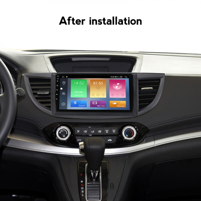 Navigatie Honda CR-V 2012, NAVI-IT, 10.25 Inch, 2GB RAM 32GB ROM, Android 9.1 , WiFi, Bluetooth, Magazin Play, Camera Marsarier [4]