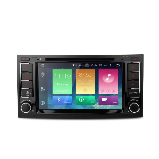 Navigatie NAVI-IT, 2GB RAM 16GB ROM, dedicata cu Android 10, Vw Touareg Transporter Multivan T5 2