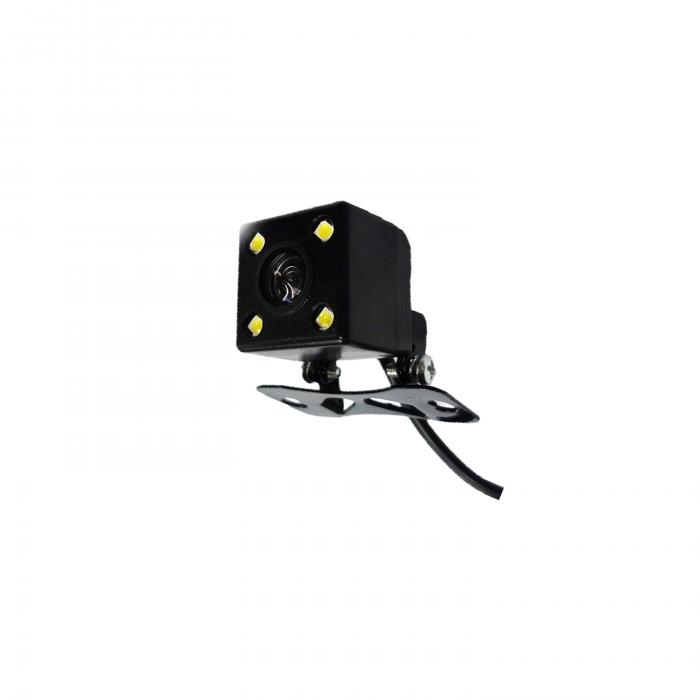 Camera marsarier 4 leduri, patrata, Full HD, reglabila manual [1]
