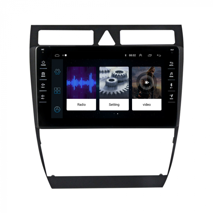 Navigatie NAVI-IT, 1GB RAM 16GB ROM,Audi A6 S6, Android 9.1, Display IPS, Functie RDS, Bluetooth, WiFi, Magazin Play, Camera Marsarier [1]