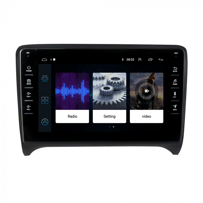 Navigatie NAVI-IT, 1GB RAM 16GB ROM,Audi TT, Android 9.1, Display IPS, Functie RDS, Bluetooth, WiFi, Magazin Play, Camera Marsarier [1]