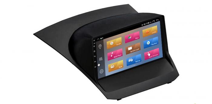 """Navigatie NAVI-IT 4 GB RAM + 64 GB ROM , Gps Ford Fiesta ( 2009 - 2017 ) , Android, Display 9 """" , Internet, Aplicatii , Waze , Wi Fi , Usb , Bluetooth , Mirrorlink 1"""