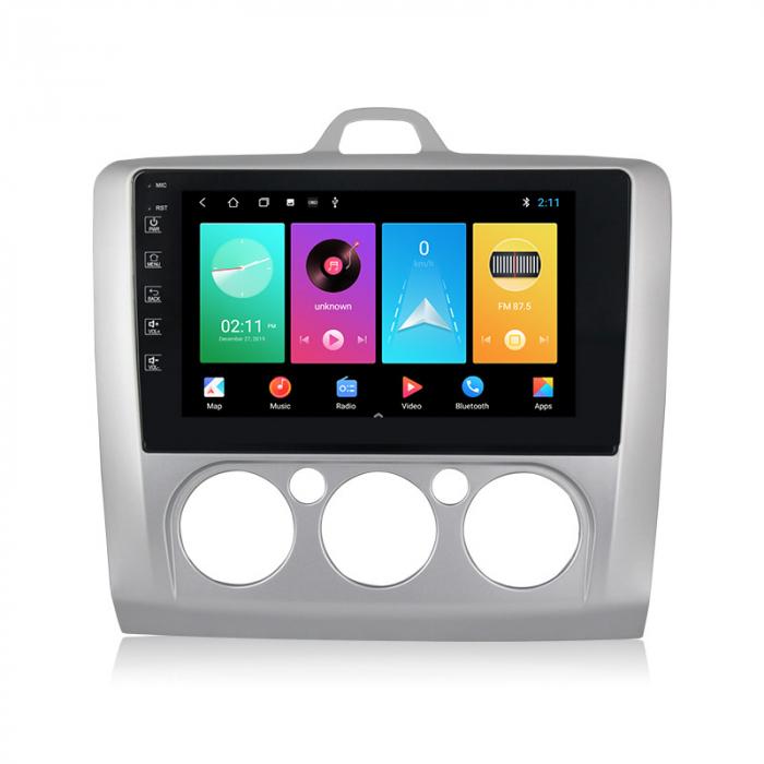 Navigatie NAVI-IT 1 GB RAM + 16 GB ROM Ford Focus ( 2004 - 2011 ) , Android , Clima Manuala , Display 9 inch , Internet ,Aplicatii , Waze , Wi Fi , Usb , Bluetooth , Mirrorlink [0]