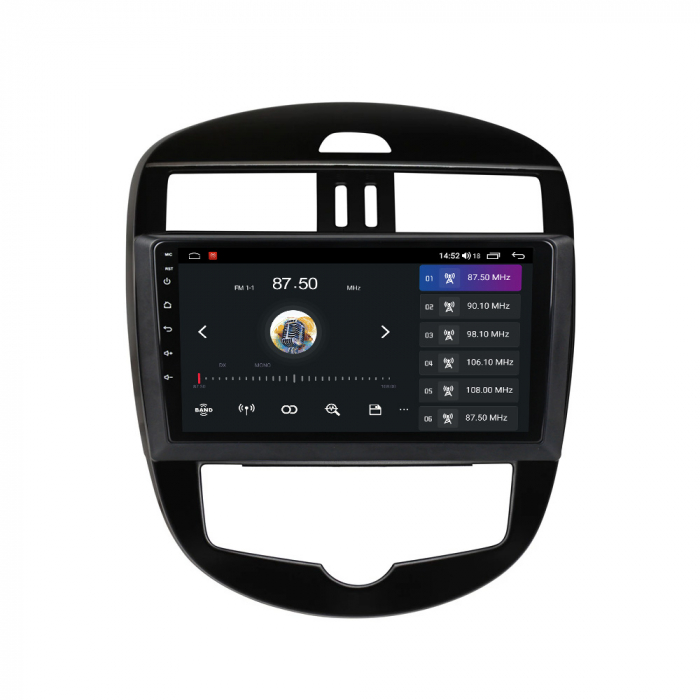 Navigatie Nissan Tiida 2011-2015, 10.25 Inch, 1GB RAM 16GB ROM, Android 9.1, WiFi, Bluetooth, Magazin Play, Camera Marsarier [1]