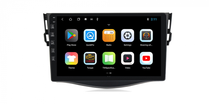 "Navigatie NAVI-IT 1 GB RAM + 16 GB ROM Gps Toyota Rav 4 ( 2007 - 2013 ) , Android , Display 9 "" , Internet , Aplicatii , Waze , Wi Fi , Usb , Bluetooth , Mirrorlink 3"