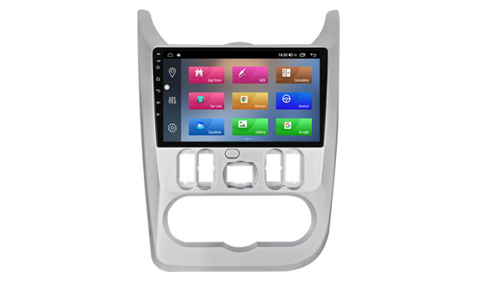 Navigatie NAVI-IT  4 GB RAM + 64 GB ROM Dacia Logan ( 2009 - 2016 ) , Android , Display 9 inch , Internet ,Aplicatii , Waze , Wi Fi , Usb , Bluetooth , Mirrorlink - Copie - Copie 2