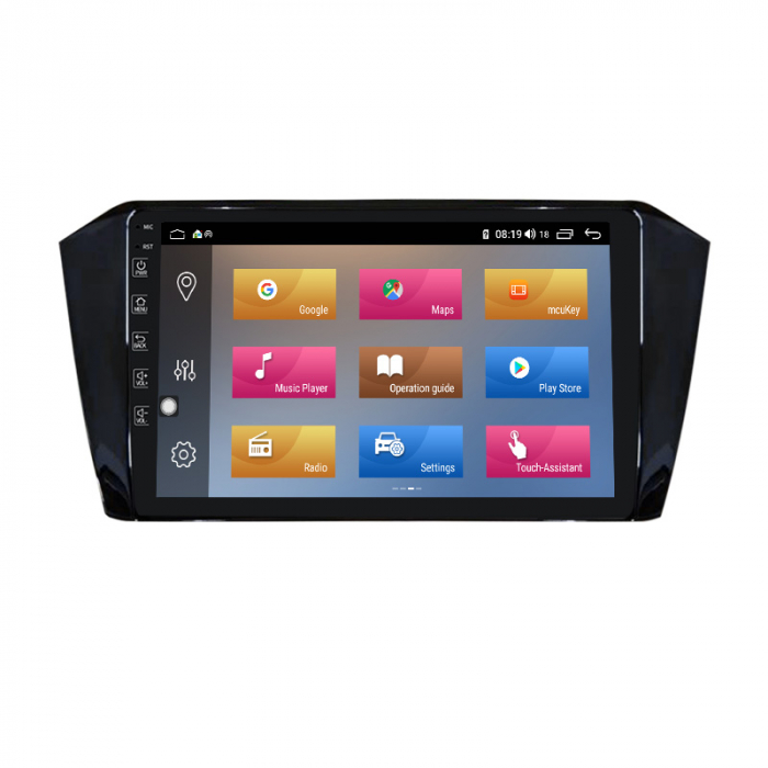 "Navigatie NAVI-IT 1GB RAM + 16GB ROM Gps Android VW Passat B8 ( 2015 - 2018 ) , Display 10.1 "", Internet ,Aplicatii , Waze , Wi Fi , Usb , Bluetooth , Mirrorlink 0"