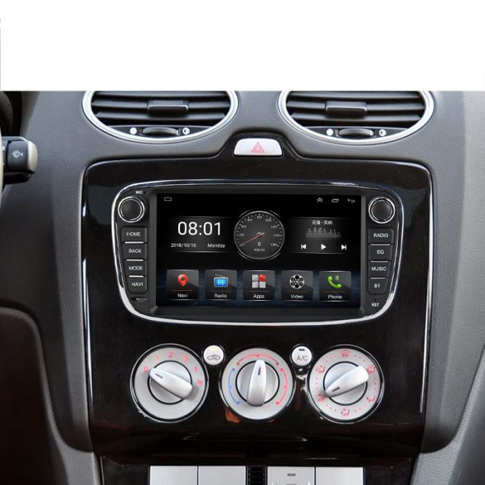 Navigatie NAVI-IT 4 GB RAM + 64 GB ROM Gps Android Ford Mondeo Focus S Max Transit Tourneo, Interne ,Aplicatii , Waze , Wi Fi , Usb , Bluetooth , Mirrorlink 4