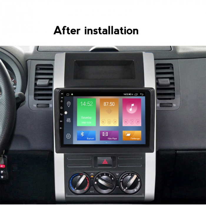 Navigatie Nissan X-Trail 2008-2012, NAVI-IT, 10.1 Inch, 4GB RAM 64GB ROM, IPS, DSP, RDS, 4G, Android 10 , WiFi, Bluetooth, Magazin Play, Camera Marsarier [3]