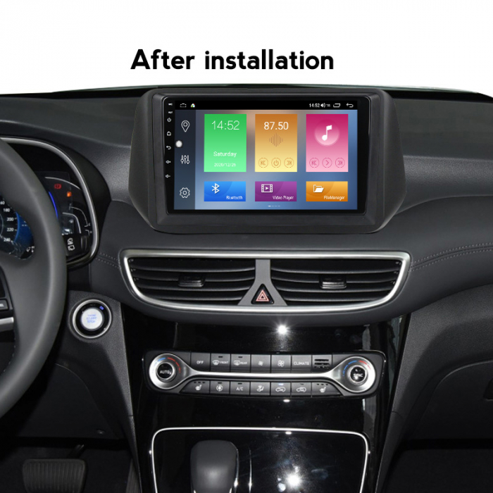 Navigatie Hyundai Tucson 2018-2020, NAVI-IT, 10 Inch, 4GB RAM 64GB ROM, IPS, DSP, RDS, 4G, Android 10 , WiFi, Bluetooth, Magazin Play, Camera Marsarier [5]