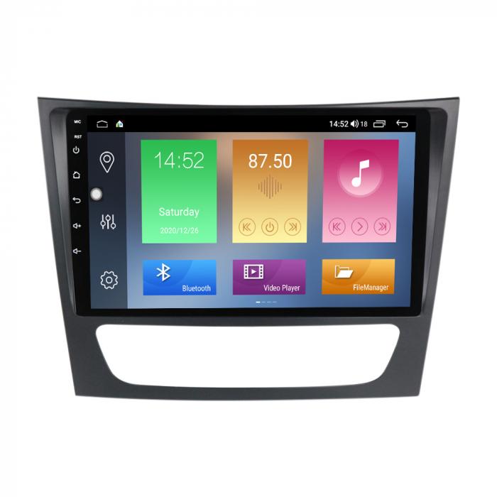 Navigatie Mercedes W211,Navi-IT, 9 Inch, 4GB RAM 64GB ROM, Android 10, IPS, DSP, RDS, WiFi, Bluetooth, Magazin Play, Camera Marsarier [0]