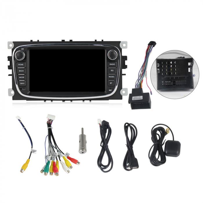 Navigatie NAVI-IT 4 GB RAM + 64 GB ROM Gps Android Ford Mondeo Focus S Max Transit Tourneo, Interne ,Aplicatii , Waze , Wi Fi , Usb , Bluetooth , Mirrorlink 5