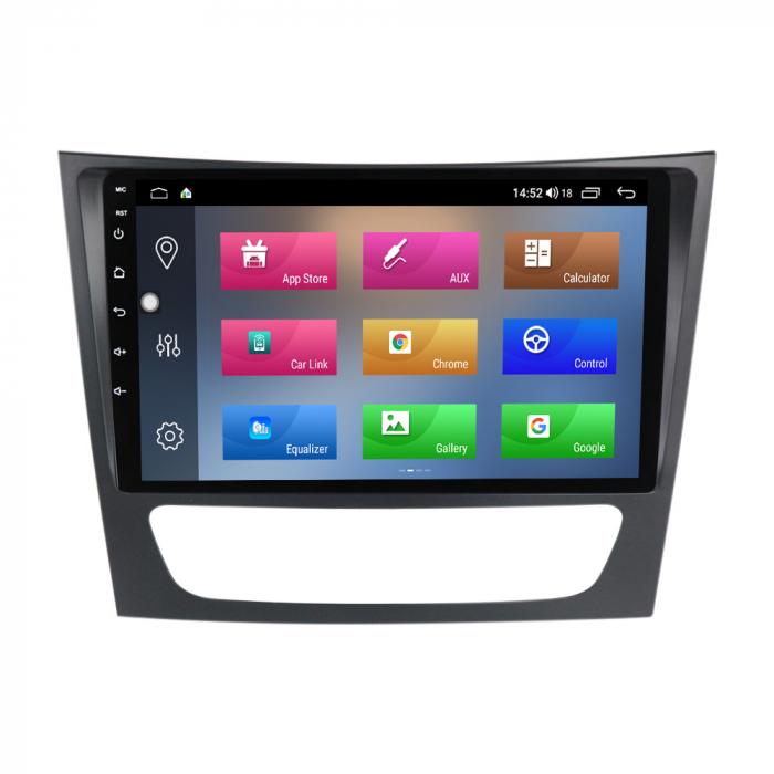Navigatie, Mercedes W211,Navi-IT, 9 Inch, 2GB RAM 32 GB ROM, Android 9,1, WiFi, Bluetooth, Magazin Play, Camera Marsarier [1]