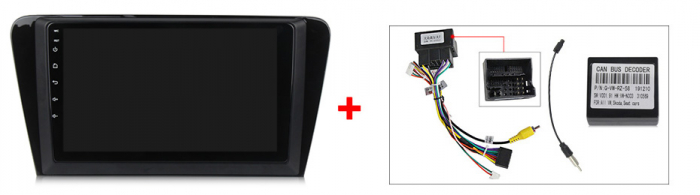 Navigatie Skoda Octavia A7 2014, NAVI-IT, 10.1 Inch, 2GB RAM 32GB ROM, Android 9,1, WiFi, Bluetooth, Magazin Play, Camera Marsarier [3]