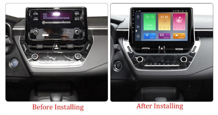 Navigatie Toyota Corolla, Auris (2018-2019), NAVI-IT, 10.2 Inch, 1GB RAM 16GB ROM, Android 9.1 , WiFi, Bluetooth, Magazin Play, Camera Marsarier [1]