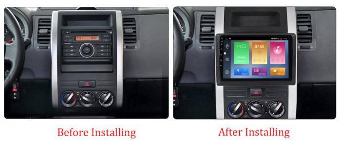 Navigatie Nissan X-Trail 2008-2012, NAVI-IT, 10.1 Inch, 2GB RAM 32GB ROM, Android 9.1 , WiFi, Bluetooth, Magazin Play, Camera Marsarier [1]