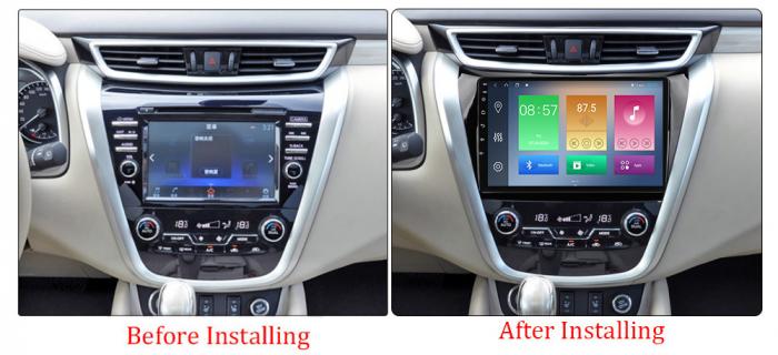 Navigatie Nissan Murano 2014-2020, 10.25 Inch, 1GB RAM 16GB ROM, Android 9.1, WiFi, Bluetooth, Magazin Play, Camera Marsarier [1]