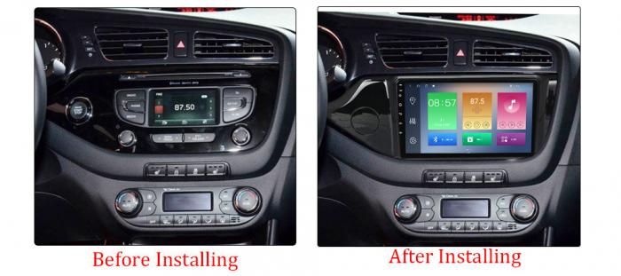 Navigatie Kia Ceed 2 2012-2018, NAVI-IT, 9 Inch, 1GB RAM 16GB ROM, Android 9.1, WiFi, Bluetooth, Magazin Play, Camera Marsarier [1]