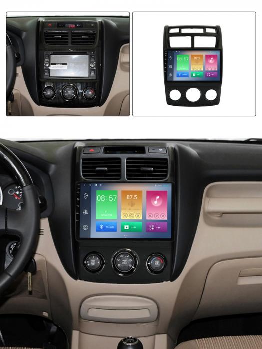 Navigatie Kia Sportage 2004-2010, NAVI-IT, 9 Inch, 4GB RAM 64GB ROM, IPS, DSP, RDS, 4G, Android 10 , WiFi, Bluetooth, Magazin Play, Camera Marsarier [6]