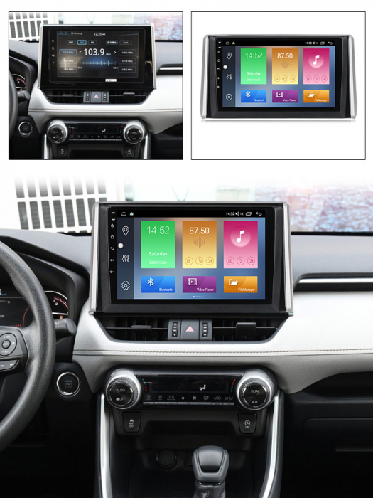Navigatie Toyota RAV4 2019, NAVI-IT, 10.2 Inch, 4GB RAM 64GB ROM, IPS, DSP, RDS, 4G, Android 10 , WiFi, Bluetooth, Magazin Play, Camera Marsarier [5]
