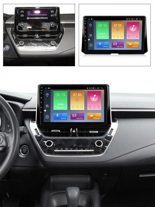 Navigatie Toyota Corolla, Auris (2018-2019), NAVI-IT, 10.2 Inch, 2GB RAM 32GB ROM, Android 9.1 , WiFi, Bluetooth, Magazin Play, Camera Marsarier [3]