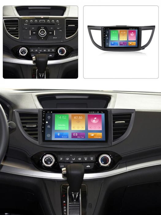 Navigatie Honda CR-V 2012, NAVI-IT, 10.25 Inch, 4GB RAM 64GB ROM, IPS, DSP, RDS, 4G, Android 10 , WiFi, Bluetooth, Magazin Play, Camera Marsarier [5]