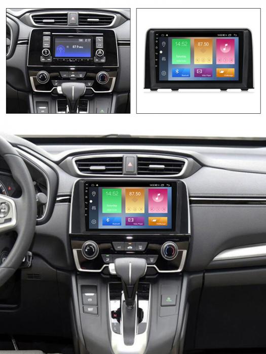 Navigatie Honda CR-V 2016-2018, NAVI-IT, 9 Inch, 1GB RAM 16GB ROM, Android 9.1 , WiFi, Bluetooth, Magazin Play, Camera Marsarier [5]