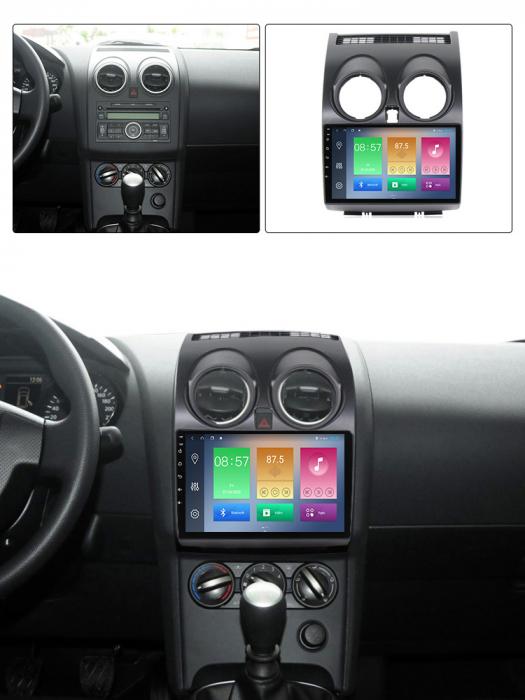 Navigatie Nissan Qashqai 2008-2013, NAVI-IT, 9 Inch, 4GB RAM 64GB ROM, IPS, DSP, RDS, 4G, Android 10 , WiFi, Bluetooth, Magazin Play, Camera Marsarier [3]