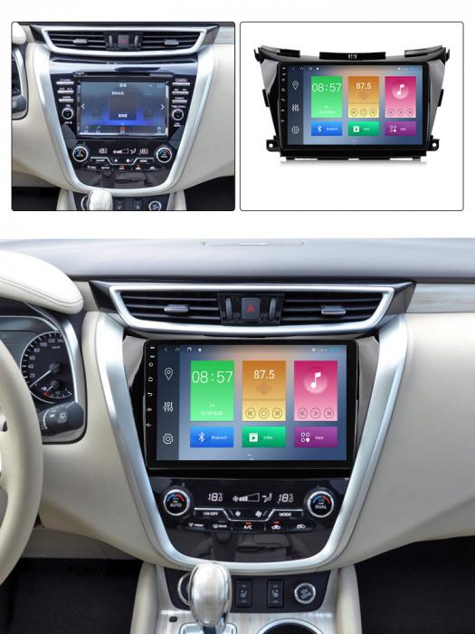 Navigatie Nissan Murano 2014-2020, 10.25 Inch, 1GB RAM 16GB ROM, Android 9.1, WiFi, Bluetooth, Magazin Play, Camera Marsarier [4]