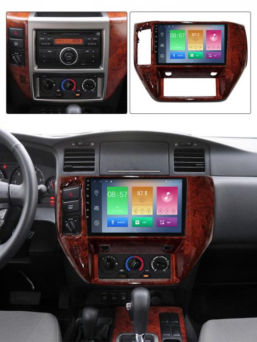Navigatie Nissan Patrol 2011-2015, NAVI-IT, 9 Inch, 2GB RAM 32GB ROM, Android 9.1, WiFi, Bluetooth, Magazin Play, Camera Marsarier [4]
