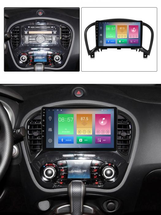 Navigatie Nissan Juke 2010-2014, NAVI-IT, 9 Inch, 4GB RAM 64GB ROM, IPS, DSP, RDS, 4G, Android 10 , WiFi, Bluetooth, Magazin Play, Camera Marsarier [3]