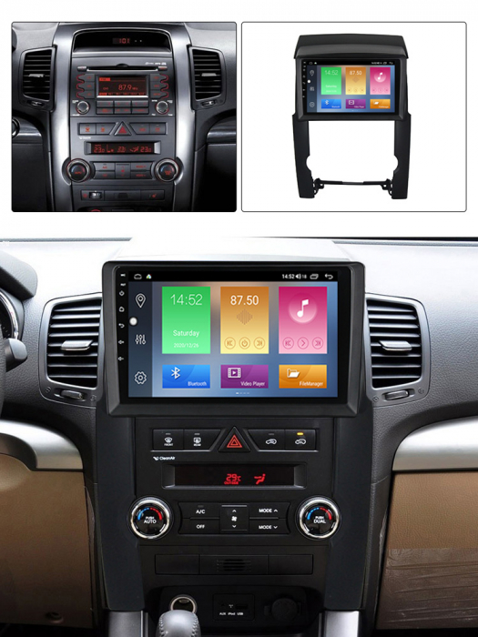 Navigatie Kia Sorento 2 2009-2012, NAVI-IT, 9 Inch, 1GB RAM 16GB ROM, Android 9.1, WiFi, Bluetooth, Magazin Play, Camera Marsarier [5]