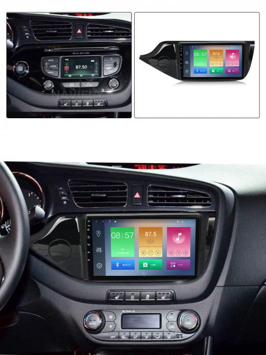Navigatie Kia Ceed 2 2012-2018, NAVI-IT, 9 Inch, 2GB RAM 32GB ROM, Android 9.1, WiFi, Bluetooth, Magazin Play, Camera Marsarier [4]