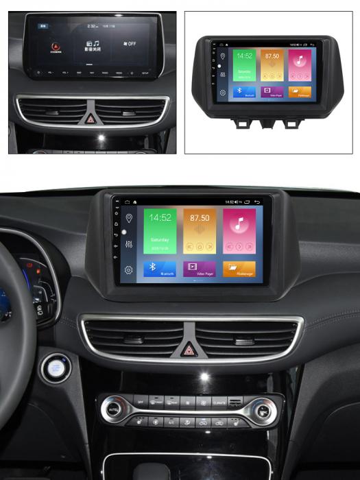 Navigatie Hyundai Tucson 2018-2020, NAVI-IT, 10 Inch, 2GB RAM 32GB ROM, Android 9.1, WiFi, Bluetooth, Magazin Play, Camera Marsarier [6]