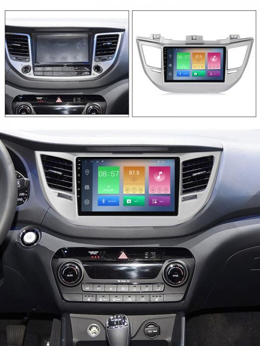 Navigatie Hyundai Tucson, IX35 2014-2018, NAVI-IT, 9 Inch, 4GB RAM 64GB ROM, IPS, DSP, RDS, 4G, Android 10 , WiFi, Bluetooth, Magazin Play, Camera Marsarier [4]