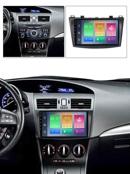 Navigatie Mazda 3 2013-2016, NAVI-IT, 10.25 Inch, 1GB RAM 16GB ROM, Android 9.1, WiFi, Bluetooth, Magazin Play, Camera Marsarier [5]