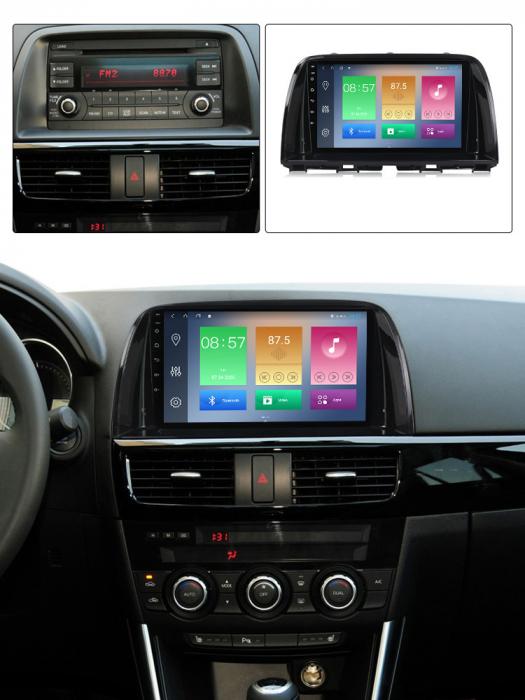 Navigatie Mazda CX5 2012-2017 , NAVI-IT, 9 Inch, 2GB RAM 32GB ROM, Android 9.1, WiFi, Bluetooth, Magazin Play, Camera Marsarier [5]
