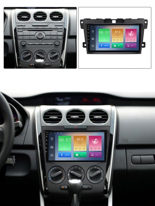 Navigatie Mazda CX7 2008-2015 , NAVI-IT, 9 Inch, 2GB RAM 32GB ROM, Android 9.1, WiFi, Bluetooth, Magazin Play, Camera Marsarier [4]