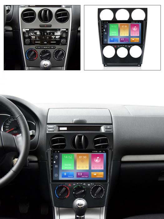 Navigatie Mazda 6 2002-2008, NAVI-IT, 9 Inch, 4GB RAM 64GB ROM, IPS, DSP, RDS, 4G, Android 10 , WiFi, Bluetooth, Magazin Play, Camera Marsarie [5]