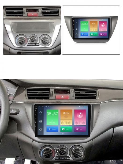 Navigatie Mitsubishi Lancer 2006-2010, NAVI-IT, 9 Inch, 4GB RAM 64GB ROM, IPS, DSP, RDS, 4G, Android 10 , WiFi, Bluetooth, Magazin Play, Camera Marsarier [5]